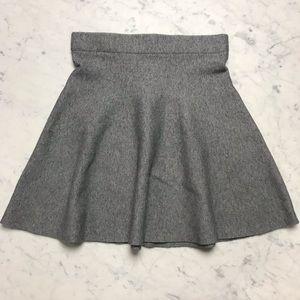 LUSH Heather Grey Sweatshirt A Line Skater Skirt